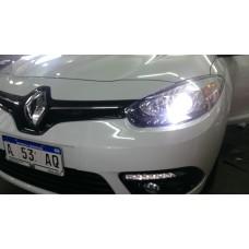Cree Led H7 Bajas Para Renault Fluence Instalado