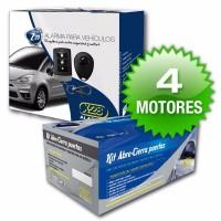 Alarma X28 Z10 Y Cierre Centralizado Corsa Classic Instalado